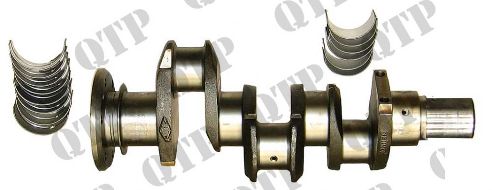 Crankshaft 35 135 Rope Seal c/o Bearings
